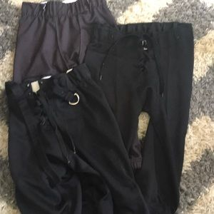 Other - Set of Boys Black Football Pants